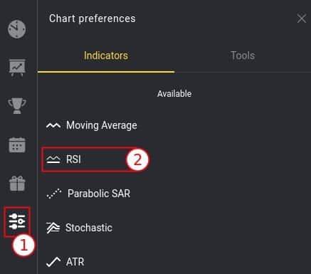 Adding RSI oscillator