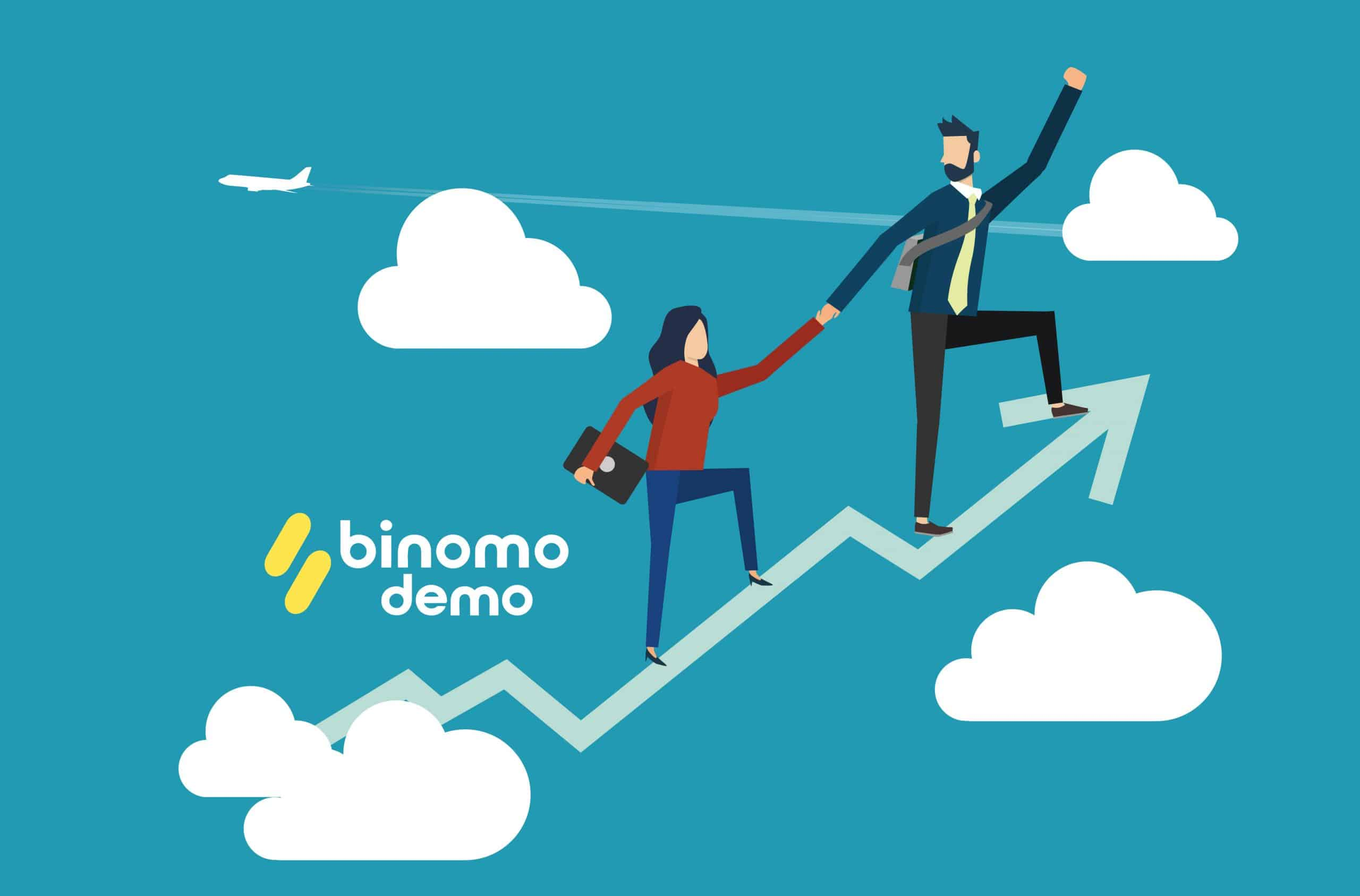 binomo trading with trends