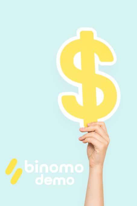 Binomo earns money